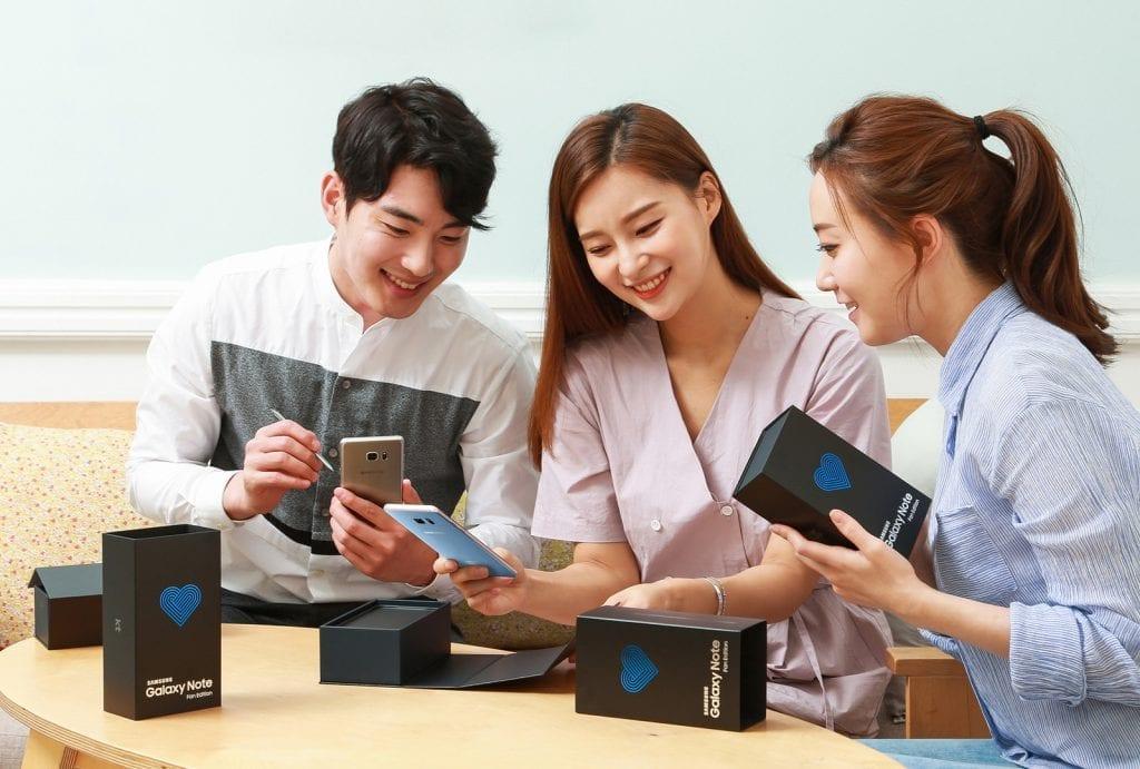 Samsung Galaxy Note FE (Fan Edition) hero