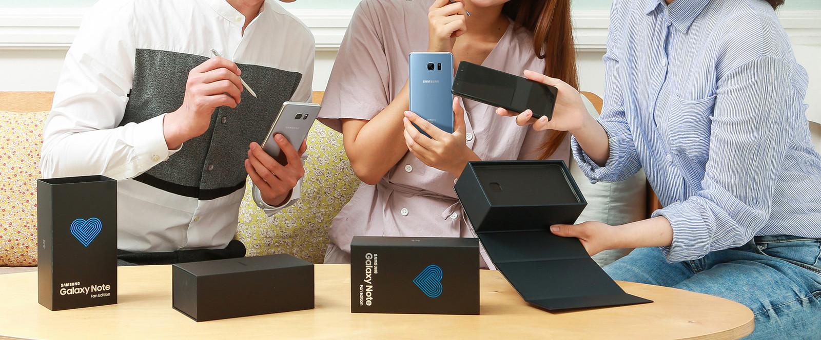 Samsung Galaxy Note FE (Fan Edition) hero (2)