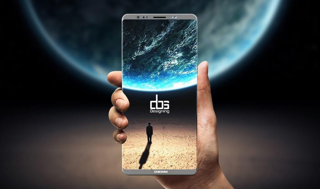 Samsung Galaxy Note8 concept
