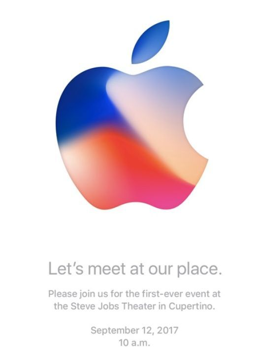 Apple September 12 2017 event invite