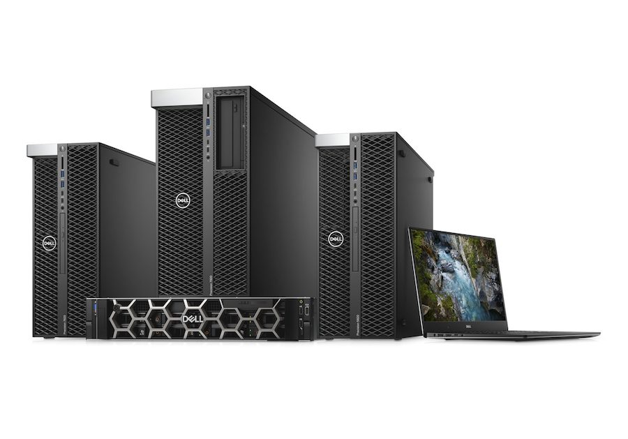 Dell Precision workstations family
