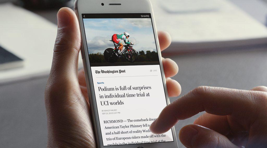 Facebook Instant Article Format