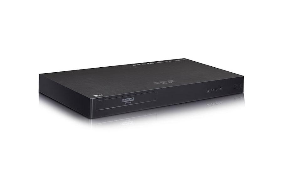 LG UP970 4K Blu ray Player 1