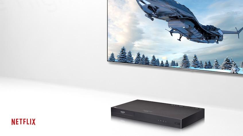 LG UP970 4K Blu ray Player 2