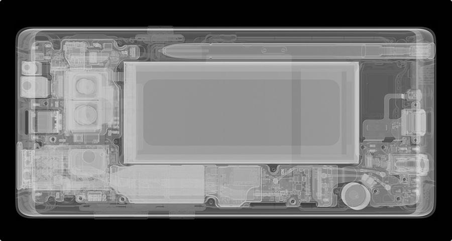 Samsung Galaxy Note8 X ray