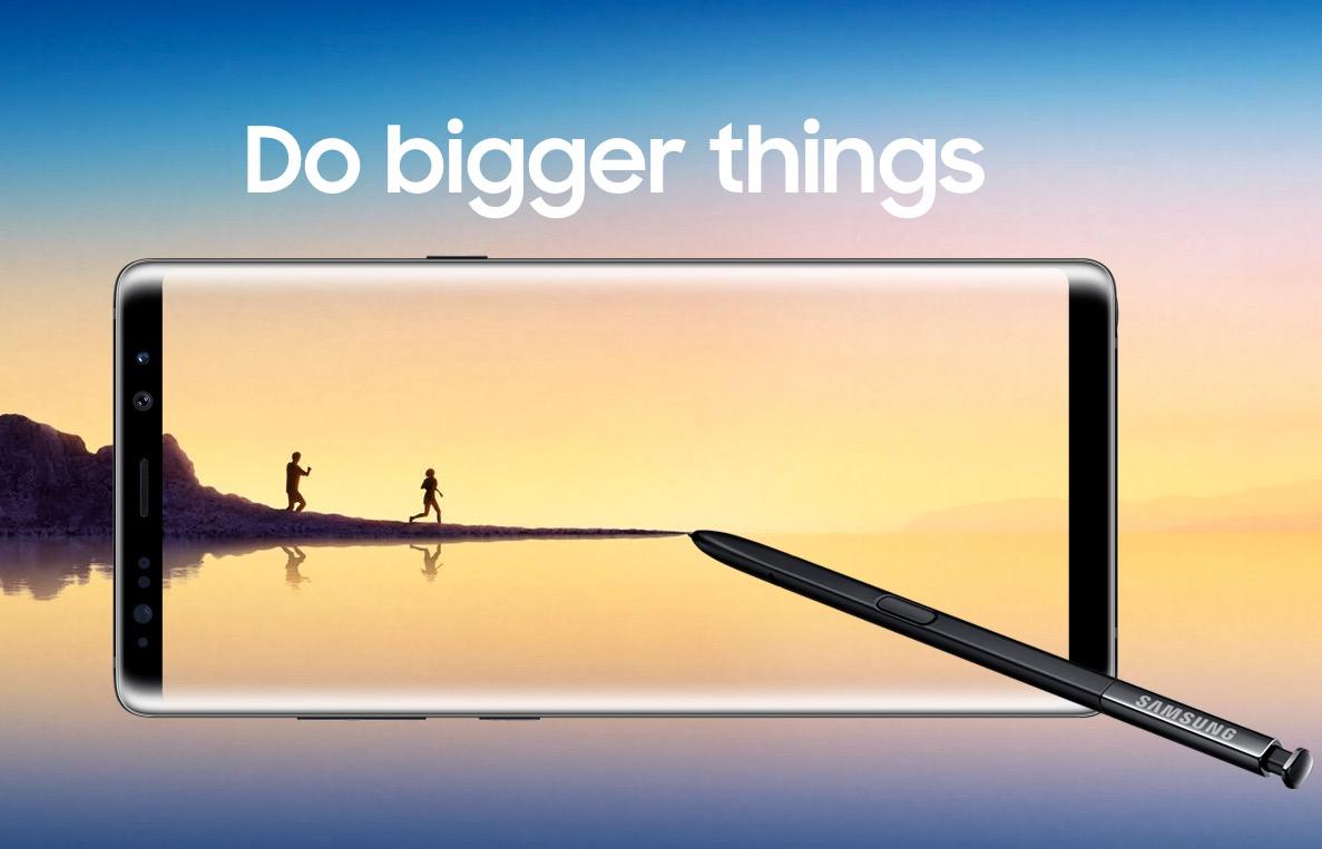 Samsung Galaxy Note8 hero