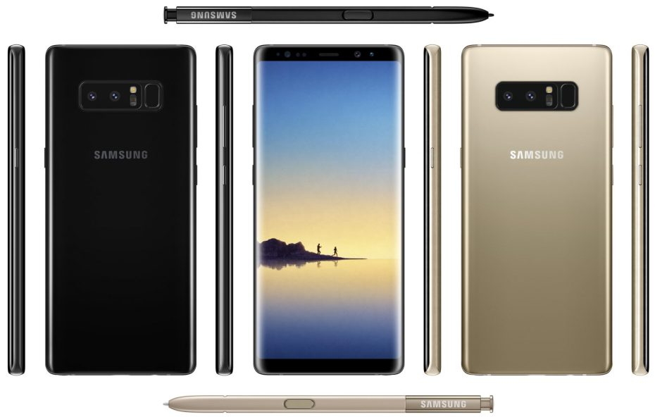 Samsung Galaxy Note8 leak