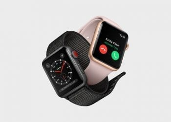 Apple Watch Series 3 incoming call
