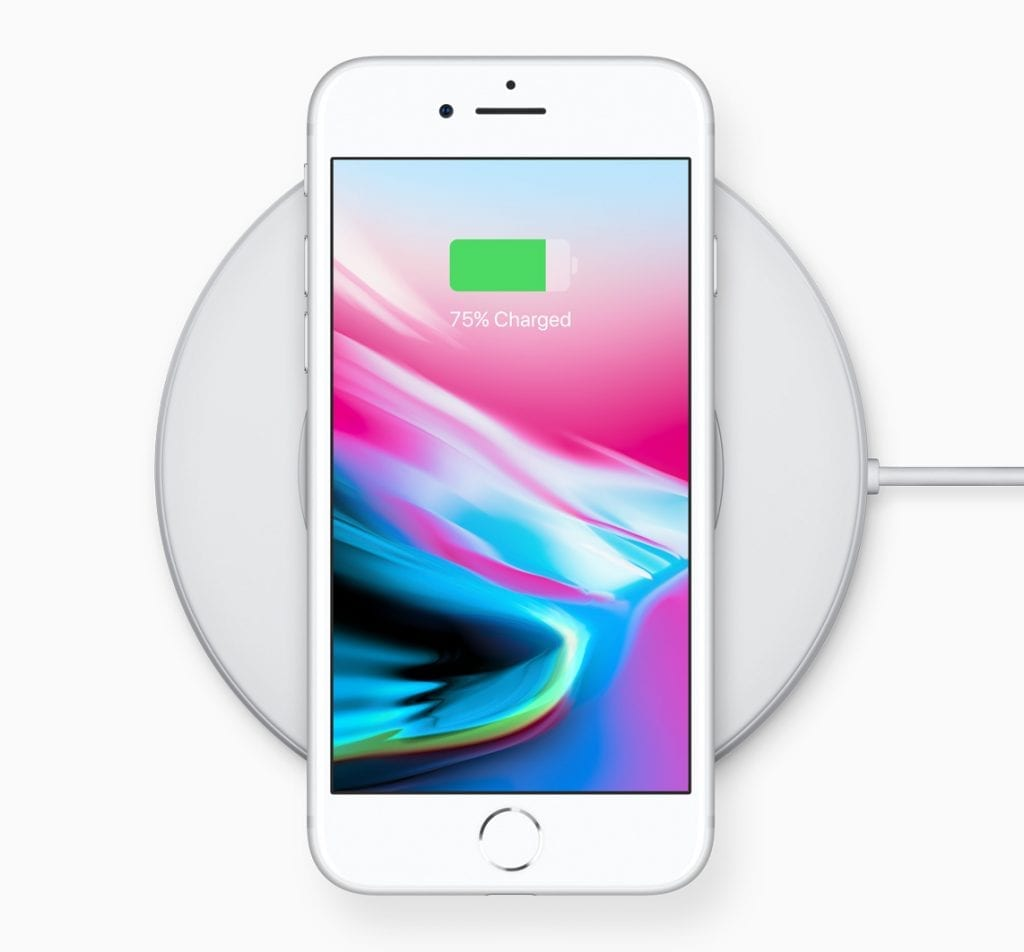 Apple iPhone 8 charging dock