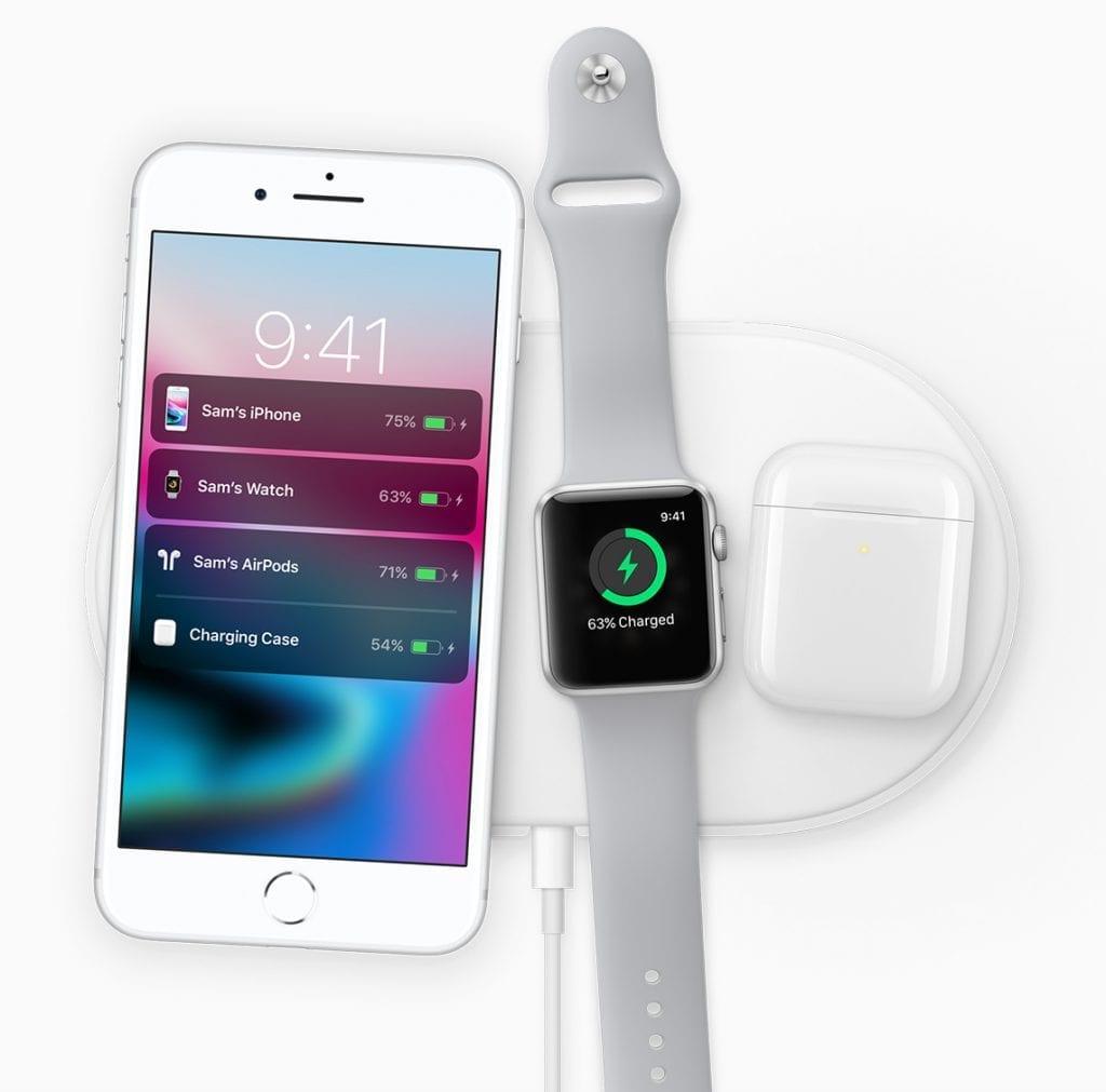 Apple iPhone 8 charging dock pods