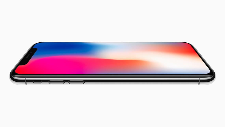 Apple iPhone X side