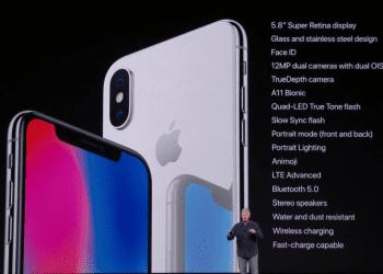 Apple iPhone X specs