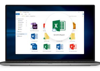 Google Drive File Stream Windows app