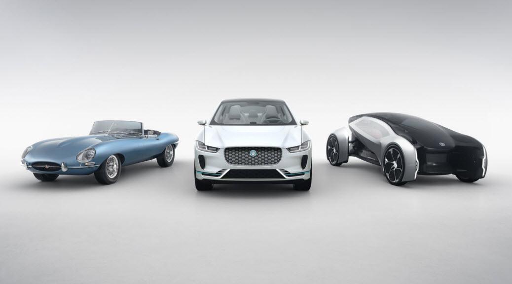 Jaguar EV concept cars