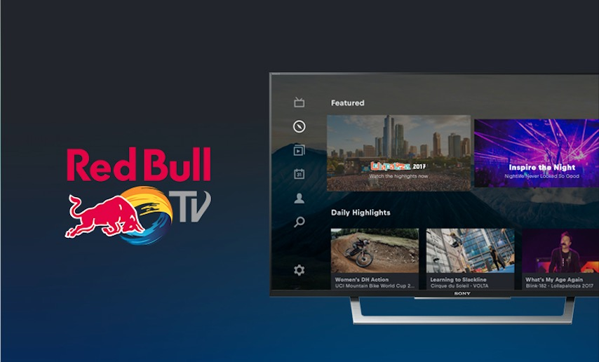 Red Bull TV on PlayStation