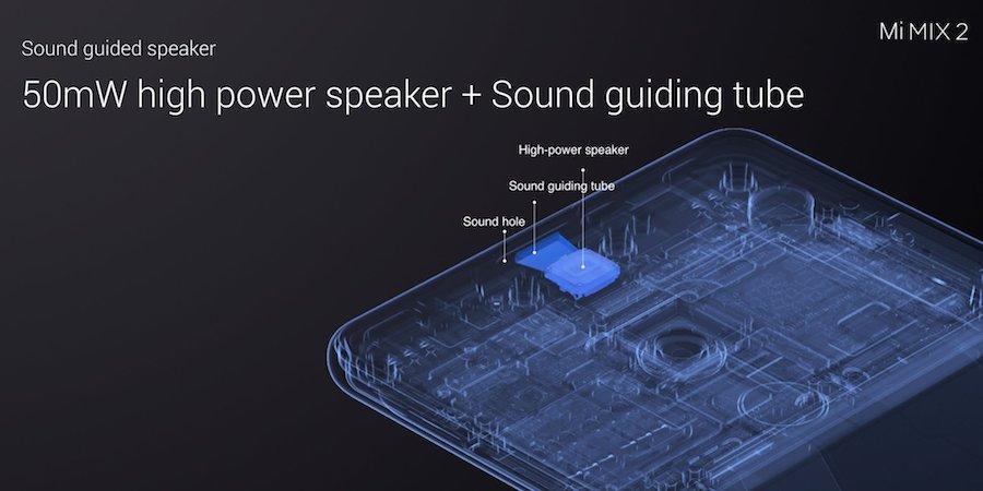 Xiaomi Mi MIX 2 sound