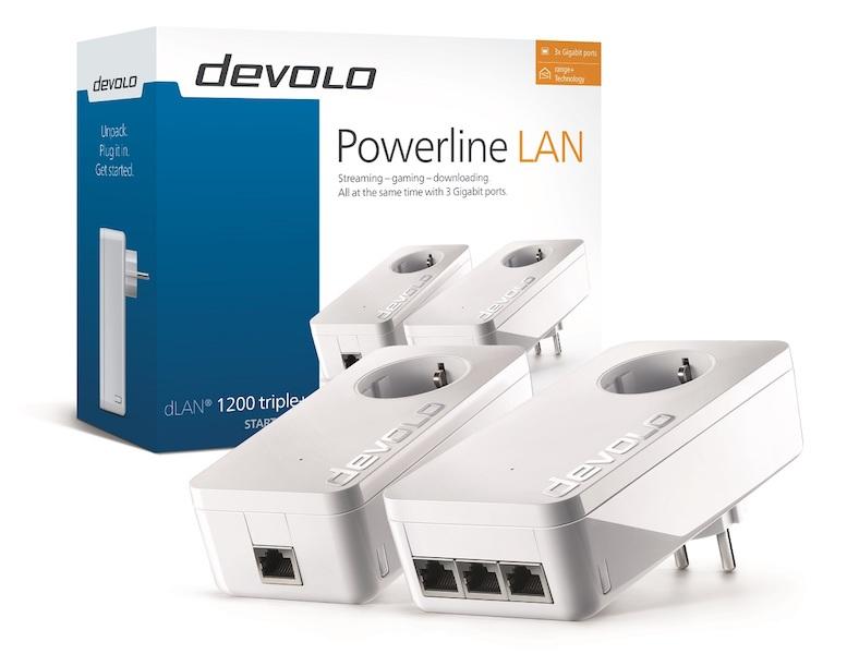 devolo dLAN 1200 triple+ packaging