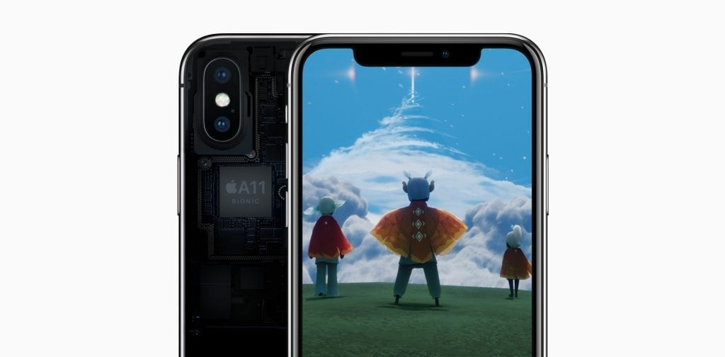 Apple iPhone X A11 Bionic chip