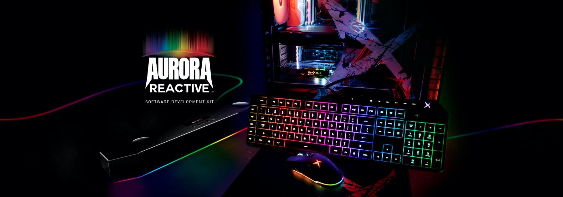 Creative Sound BlasterX Aurora Reactive SDK