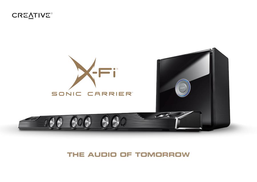 Creative X Fi Sonic Carrier The Audio of Tomorrow