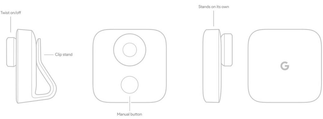 Google Clips design