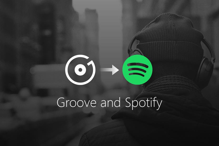 Microsoft Groove Music Pass Spotify