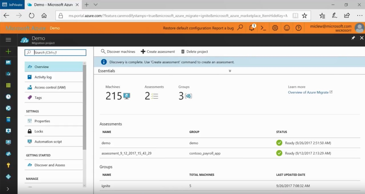 Migrating your applications, data, and workloads to Microsoft Azure BRK2233