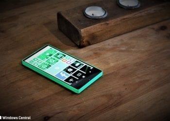 Nokia Lumia 435 bezel less prototype leak