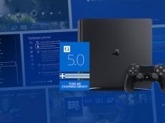 Sony PlayStation 4 Greek menu