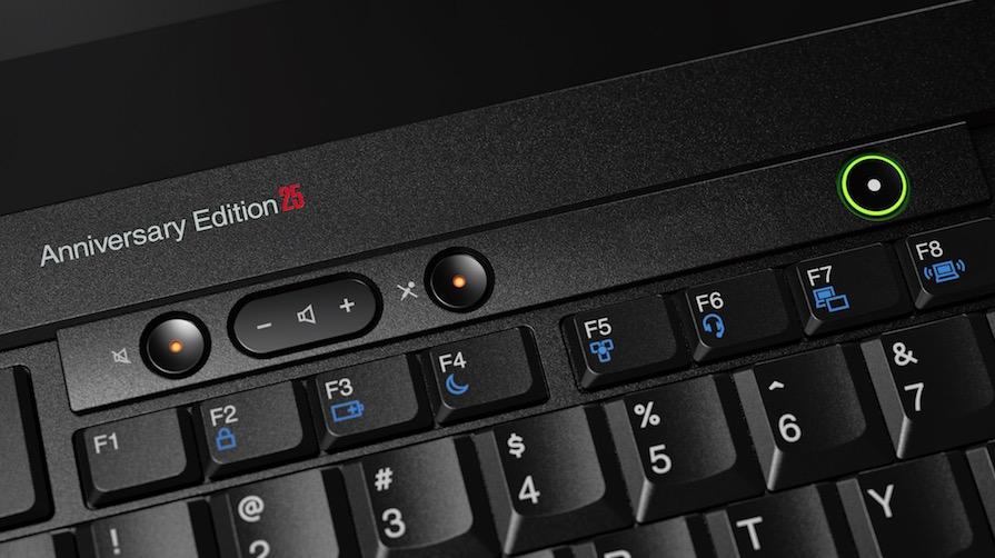 ThinkPad Anniversary Edition 25 close up