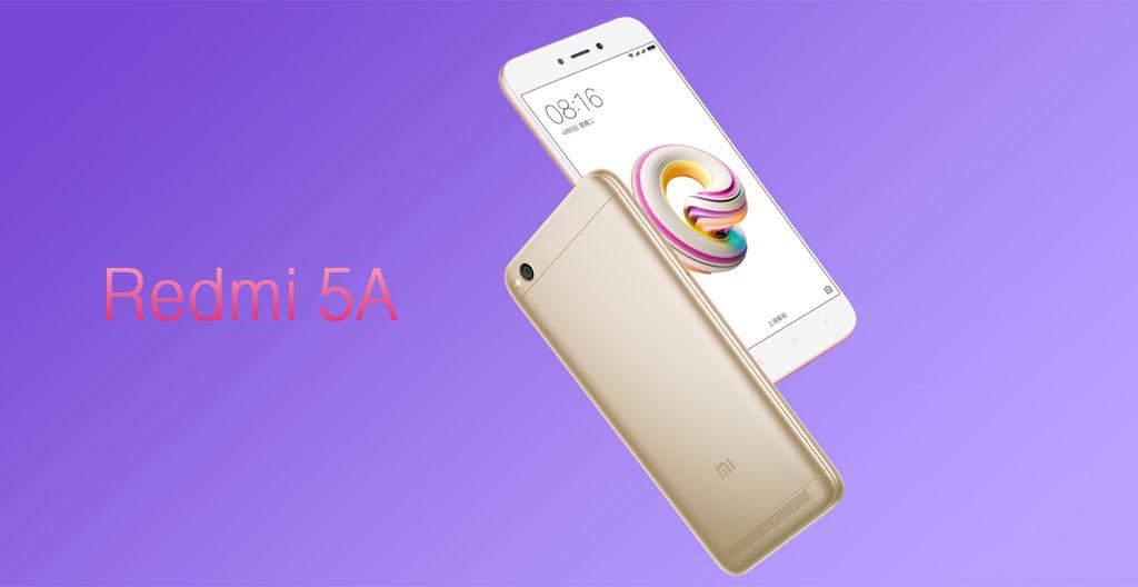 Xiaomi Redmi 5A hero