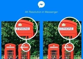 Facebook Messenger 4K photos