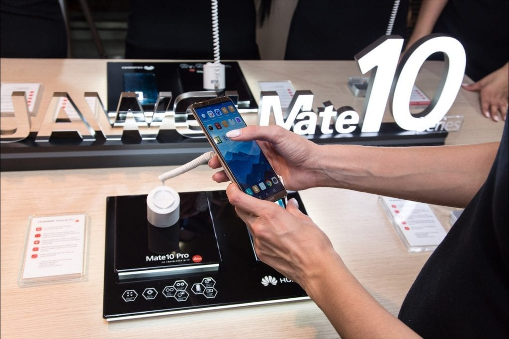 Huawei Mate 10 Pro Greek launch event 4