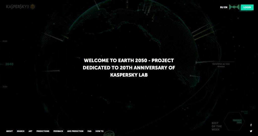 Kaspersky Lab Earth 2050