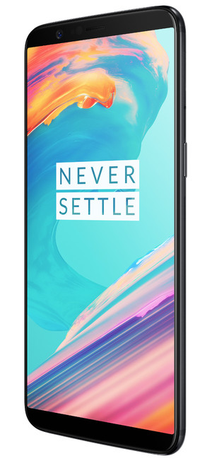 OnePlus 5T right side