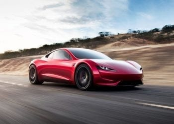 Tesla Roadster hero