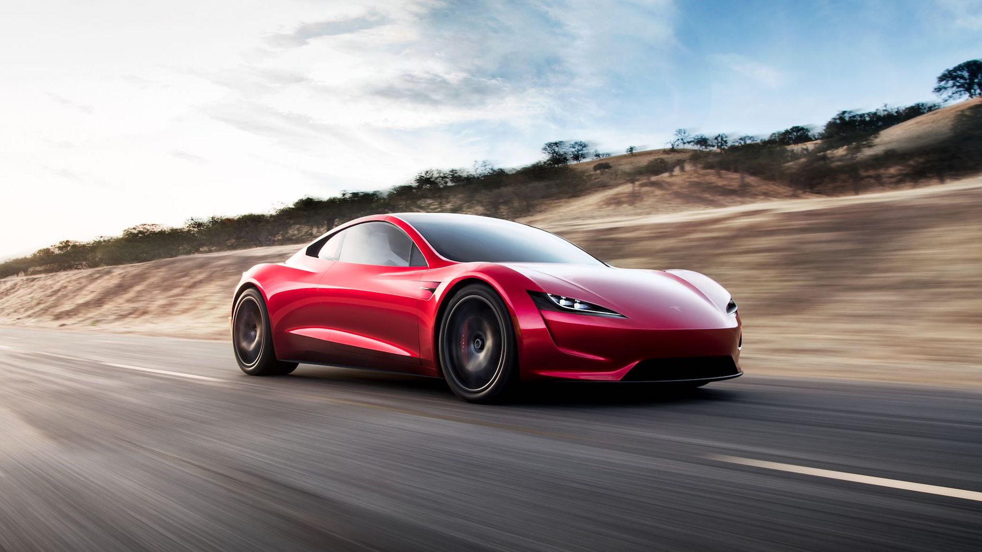 Tesla Roadster hero