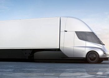 Tesla Semi hero