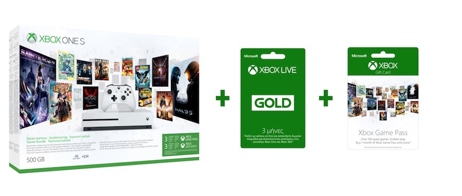 Xbox One S Black Friday offer