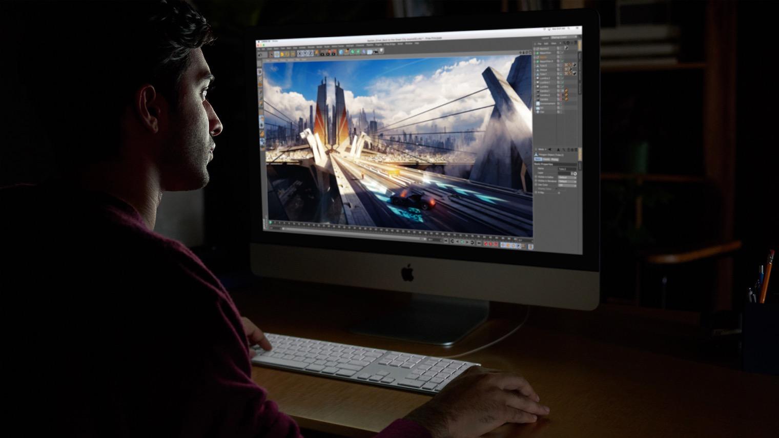 Apple iMac Pro hero