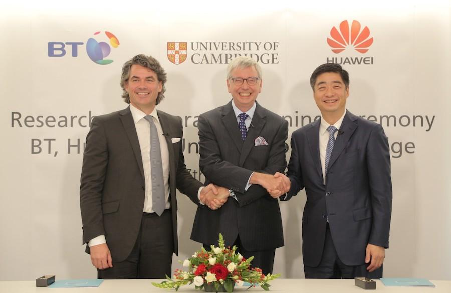 BT HUAWEI R&D CAMBRIDGE