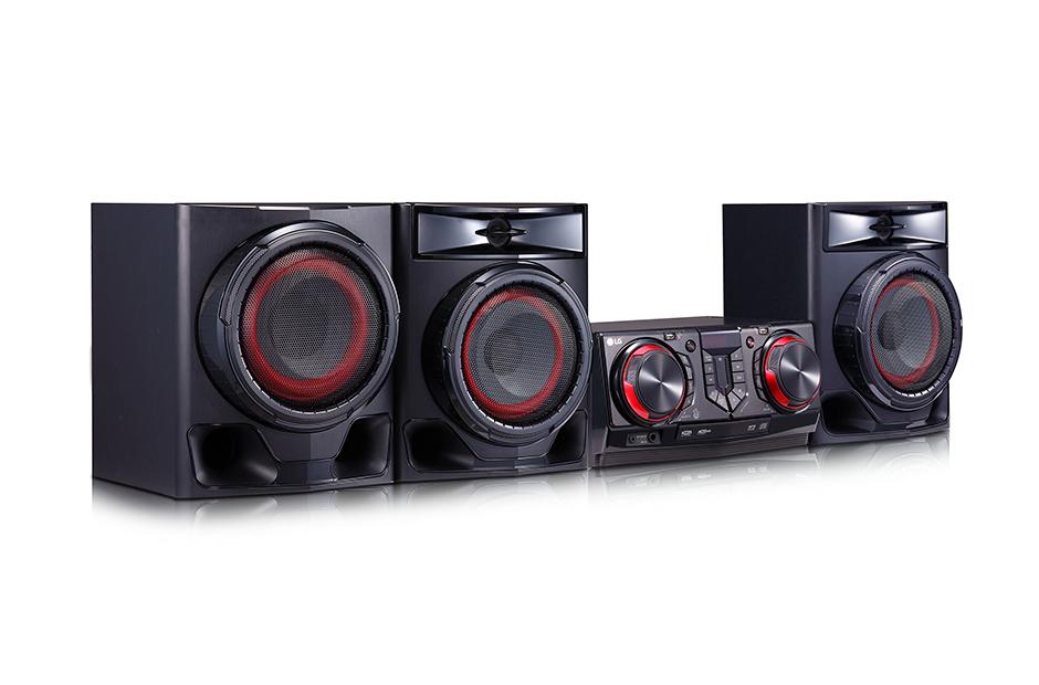 LG CJ45 Mini Hi Fi Bluetooth Speakers