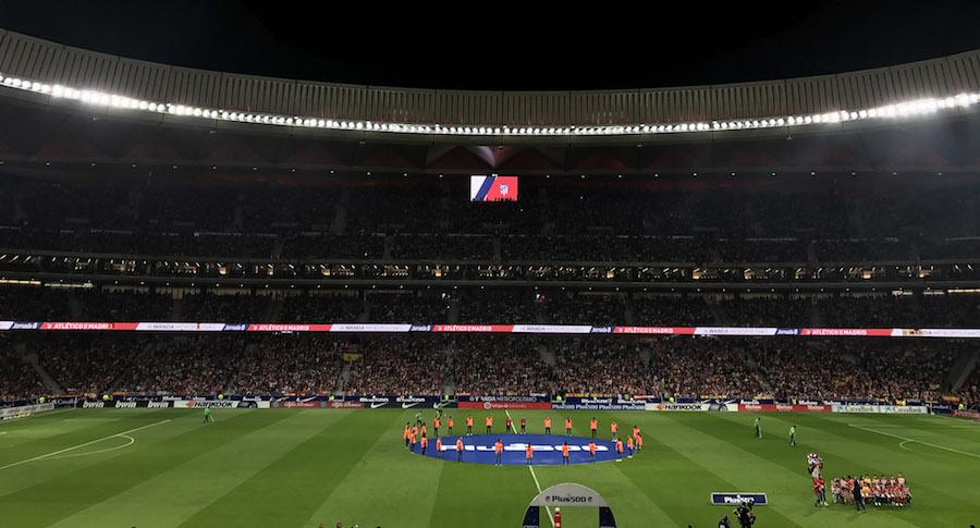 LG Signage Technology for Atletico de Madrid 1