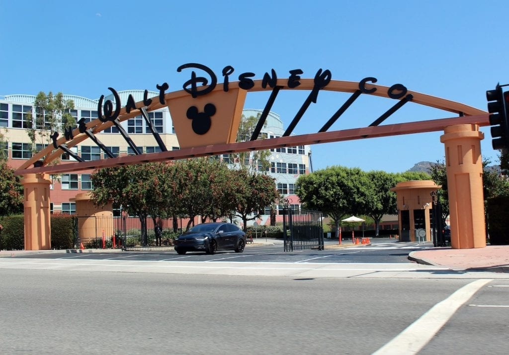 The Walt Disney Company Alameda studio entrance
