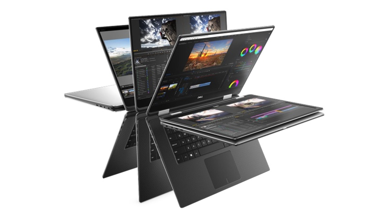 Dell XPS 15 (2018) modes