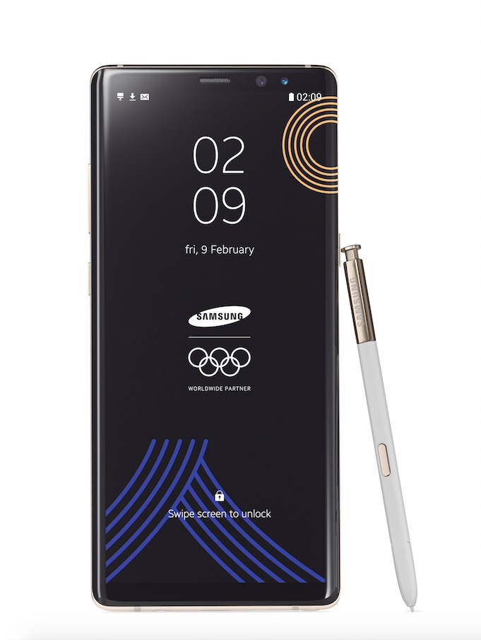 Samsung PyeongChang 2018 Olympic Games Limited Edition