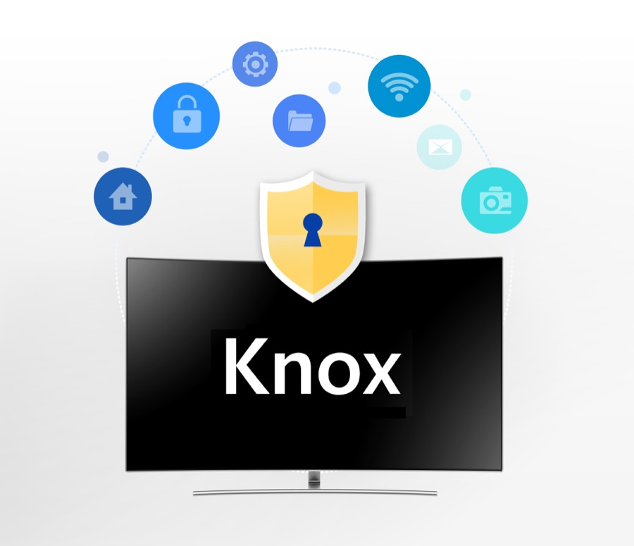 Samsung Smart TV Security with Knox image