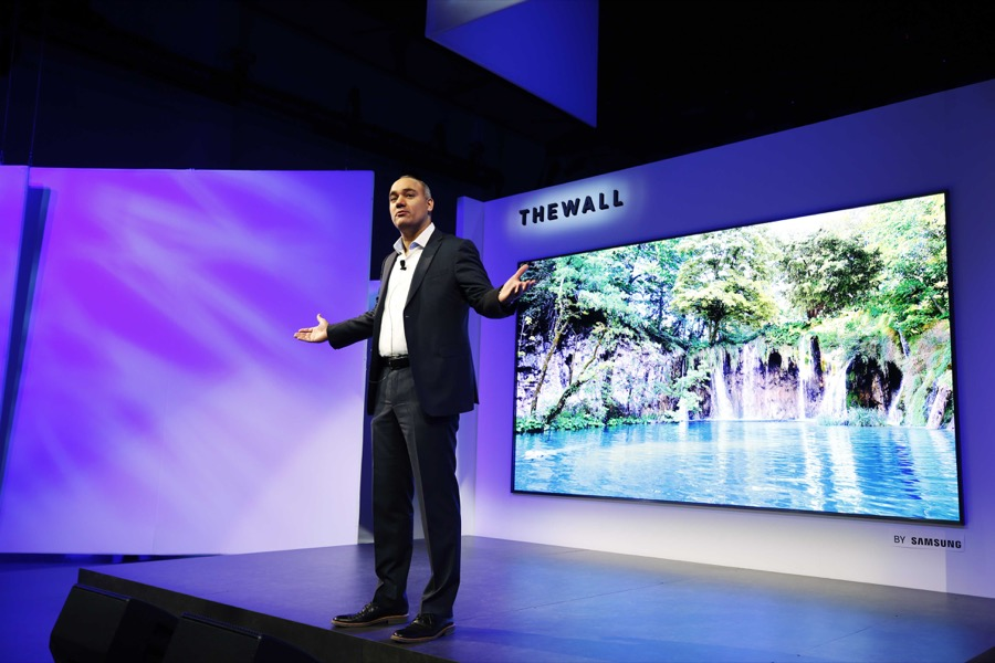 Samsung The Wall - CES 18