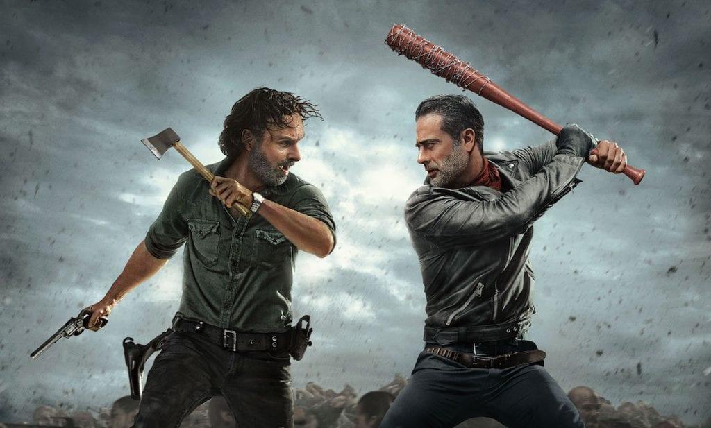 The Walking Dead - Rick vs Negan