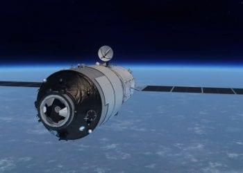 Tiangong-1 rendering